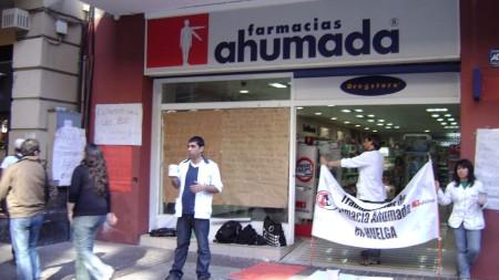 Huelga de trabajadores de Fasa. (Foto Flickr Roberto Bustamante)